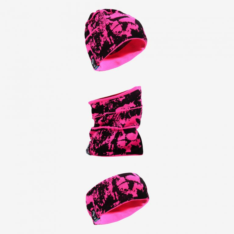 Pannband 3-i-1 pink
