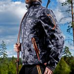 p4h supreme jacket black camo, herr