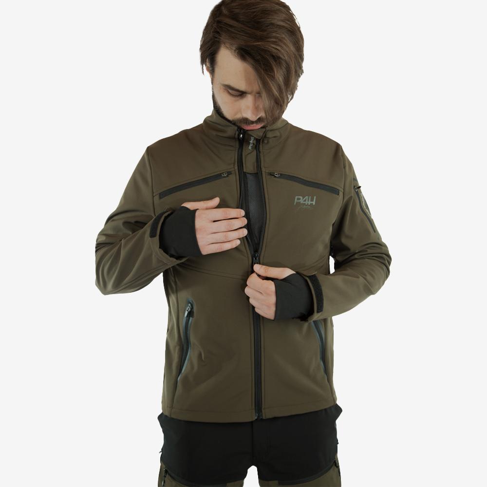 p4h supreme jacket green, herr