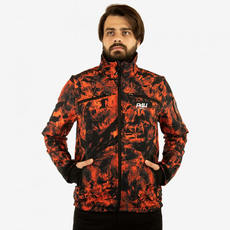 p4h supreme jacket blaze camo, herr