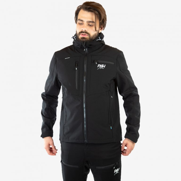 p4h extreme hybrid jacket black, herr