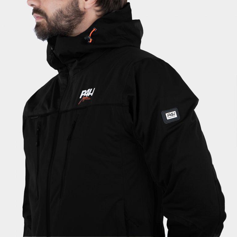 p4h aqua king jacket, black