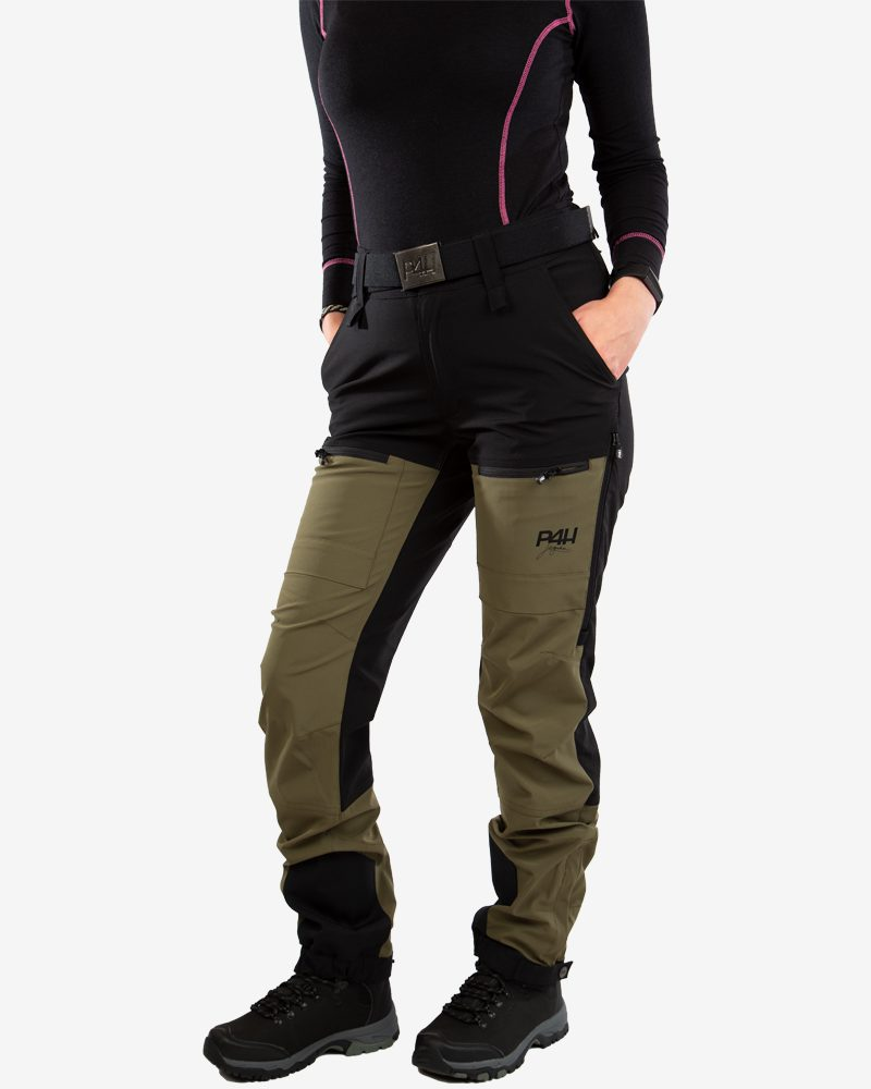 p4h power pants green, dam