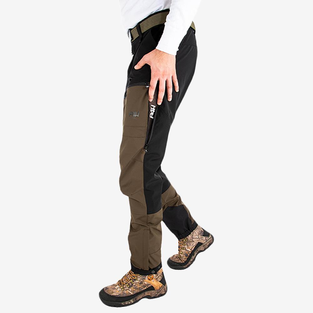 p4h power pants dark green, herr