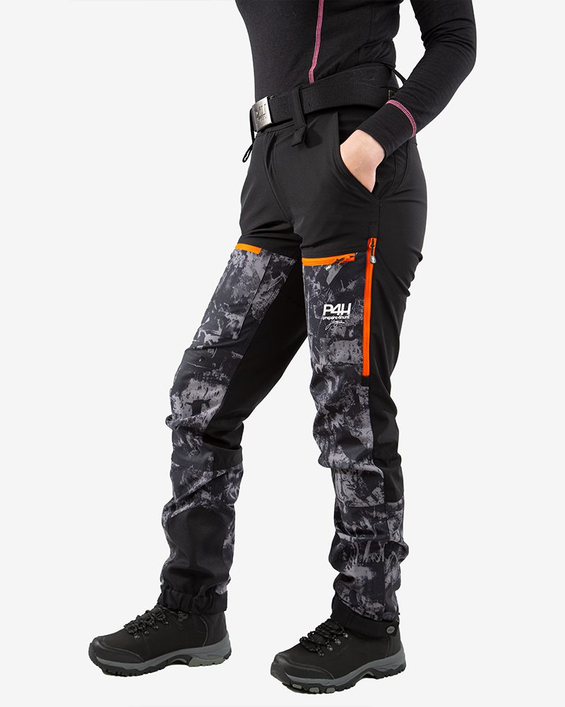 p4h power pants black camo, dam