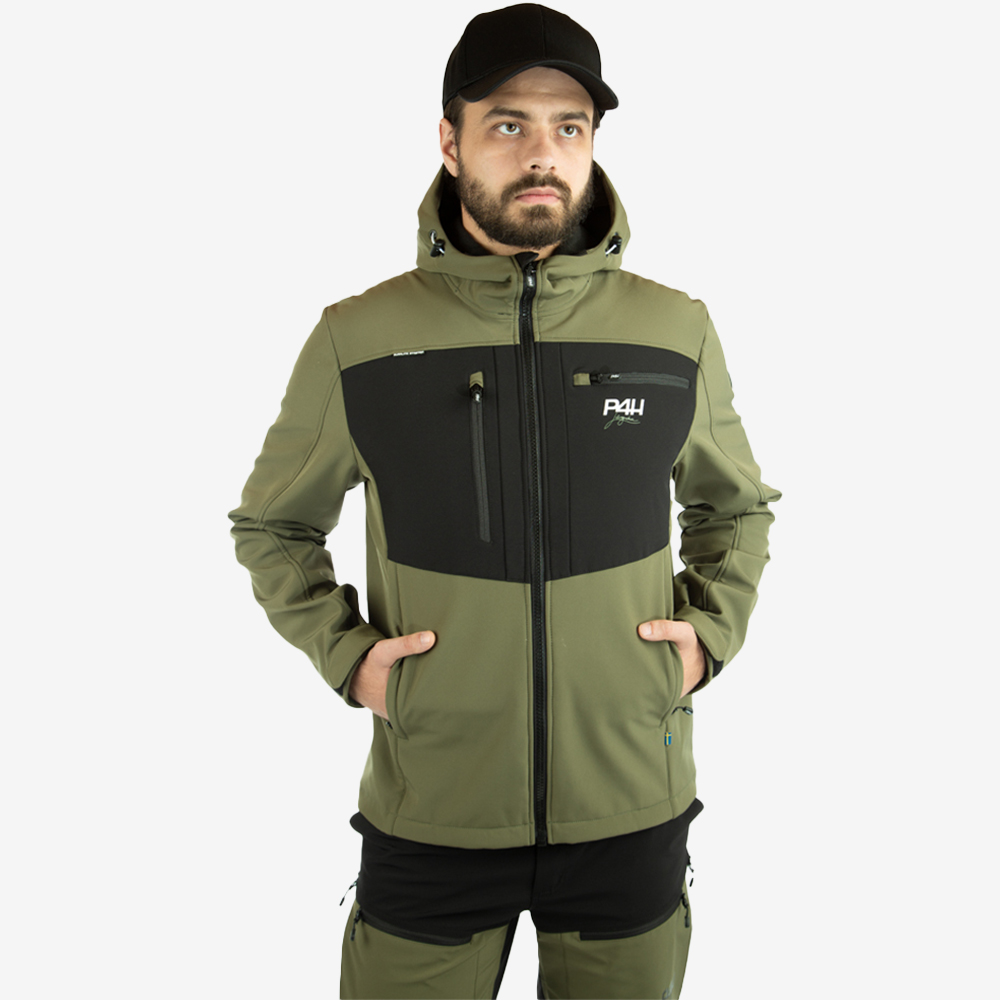p4h extreme hybrid jacket green, herr