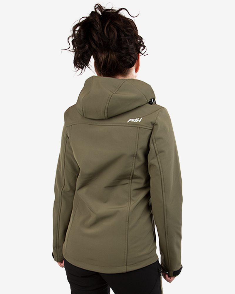 p4h extreme hybrid jacket green, dam