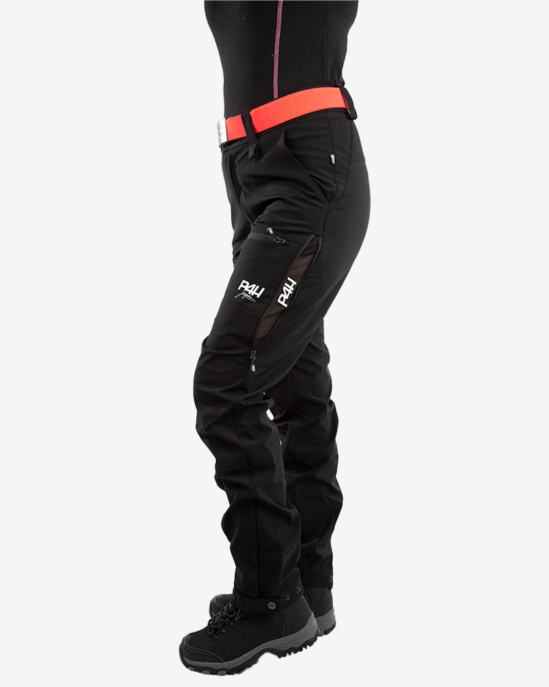 p4h power pants black, dam