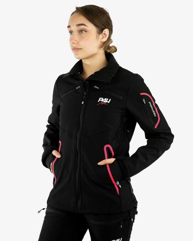 p4h supreme jacket black/pink, dam