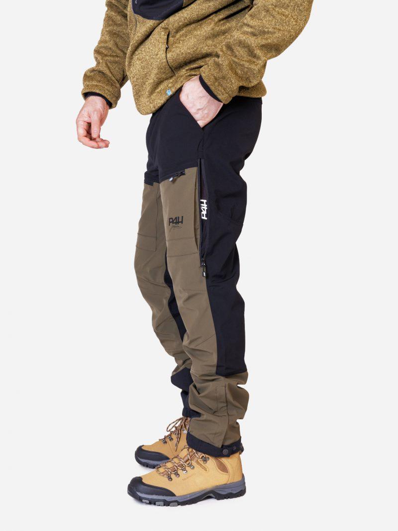 Friluftsbyxa Stretch, power pants dark green, herr