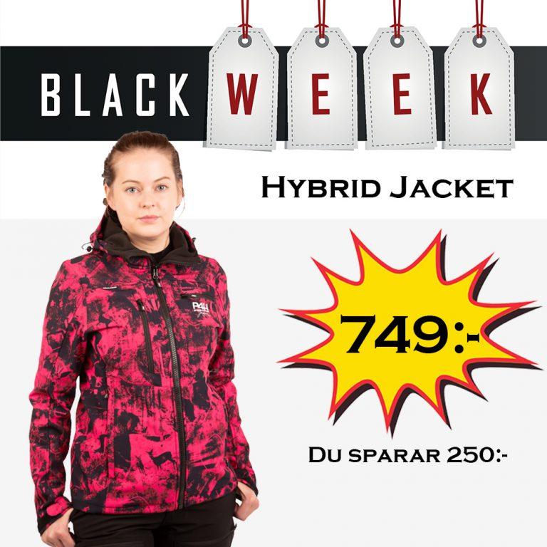 p4h extreme hybrid jacket pink, dam