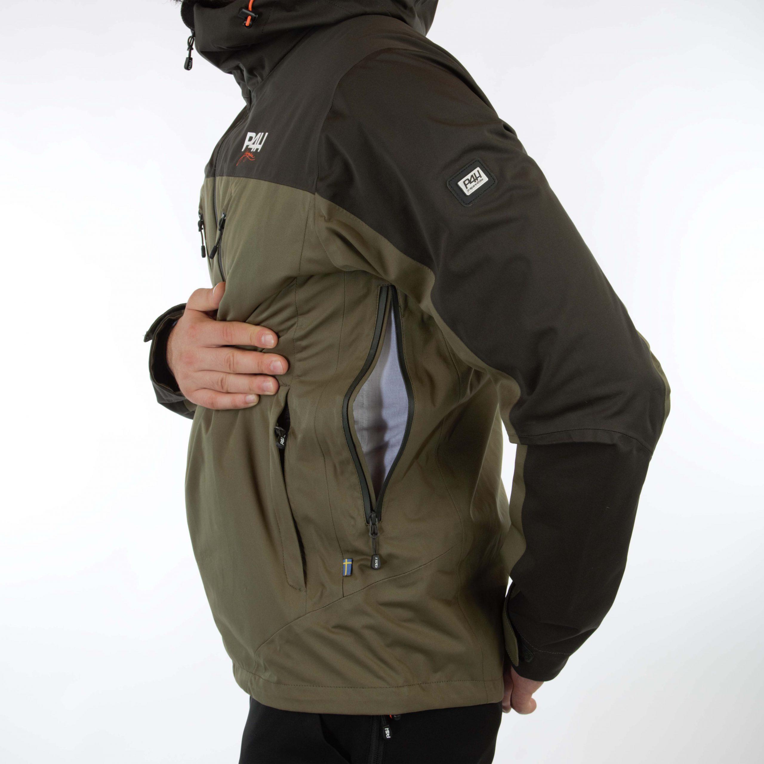 p4h aqua king jacket, green