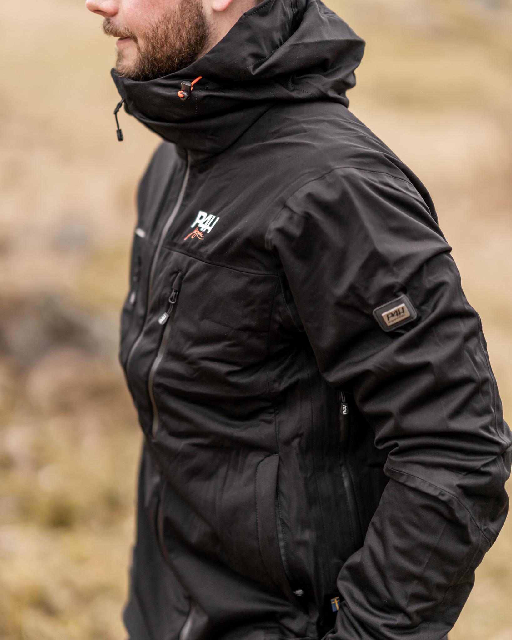p4h aqua king jacket, black