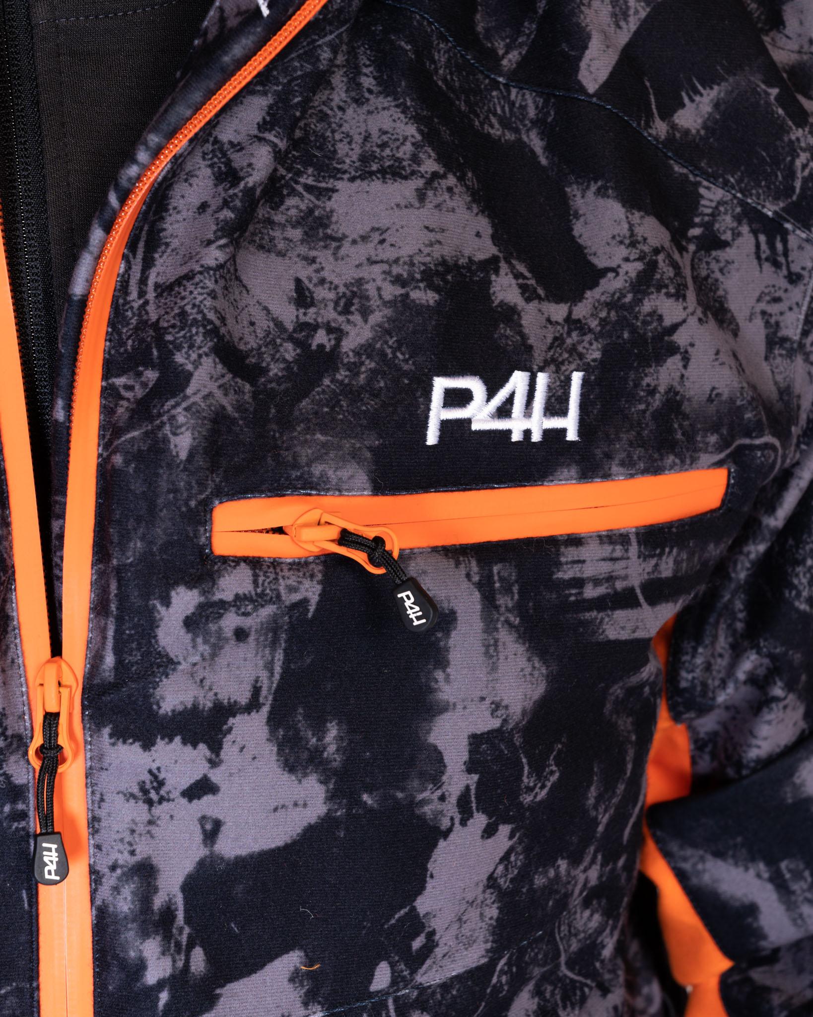 P4H Hunters Elite Jacket, Black Camo
