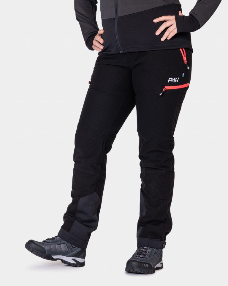 p4h hunters elite pant black/pink, dam