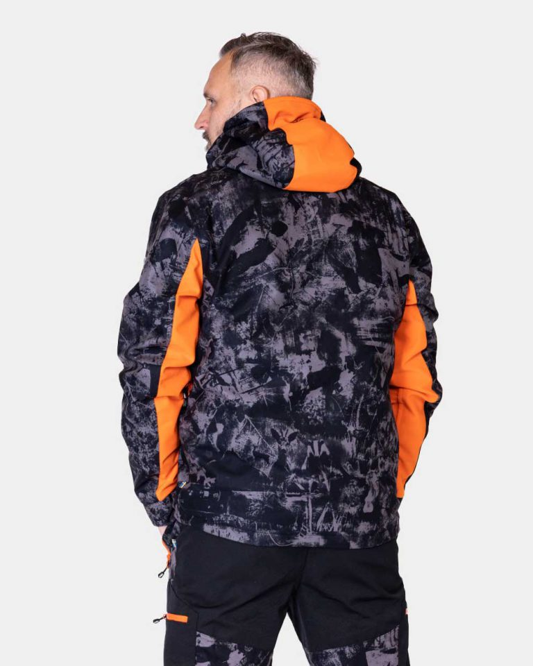 P4H Hunters Elite Jacket, Black Camo