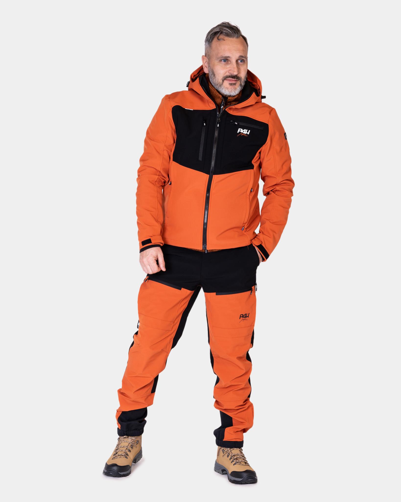 Friluftsjacka Extreme Hybrid Jacket, Rusty