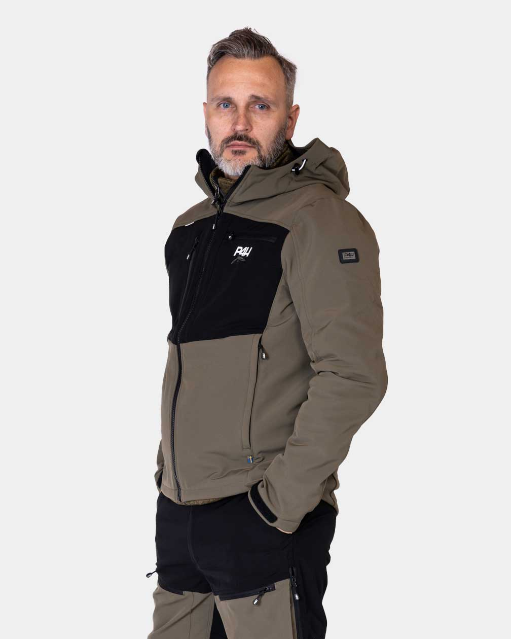 Friluftsjacka, Extreme Hybrid Jacket Green, Herr