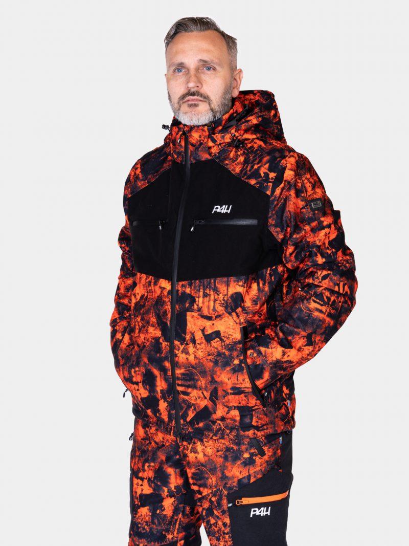 P4H Hunters Elite Jacket, Blaze Comb