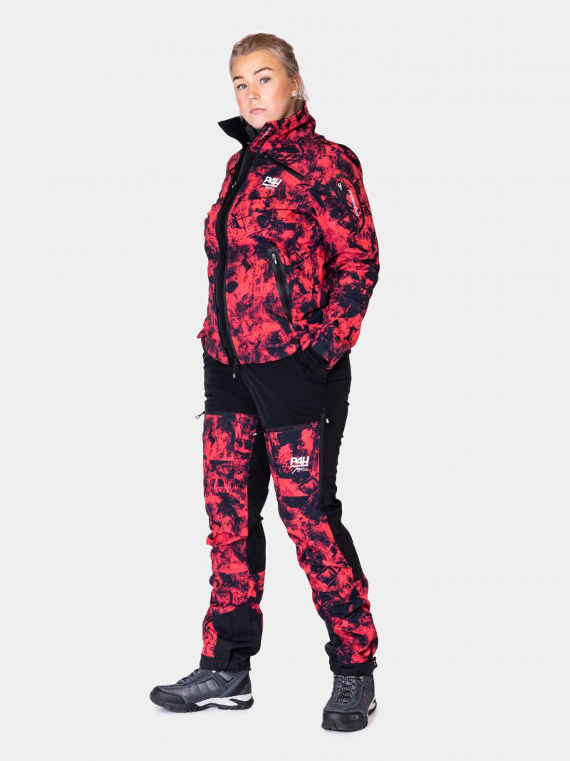p4h power pants pink camo, dam