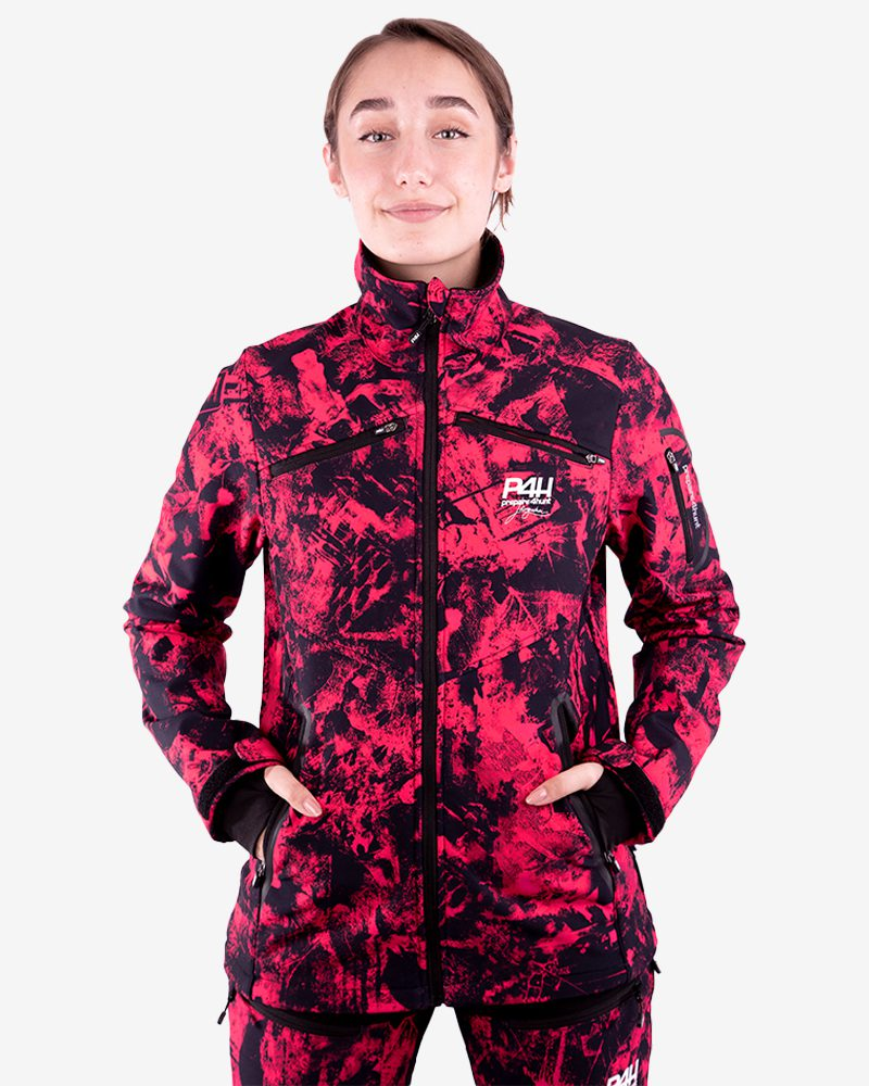 p4h supreme jacket, pink camo