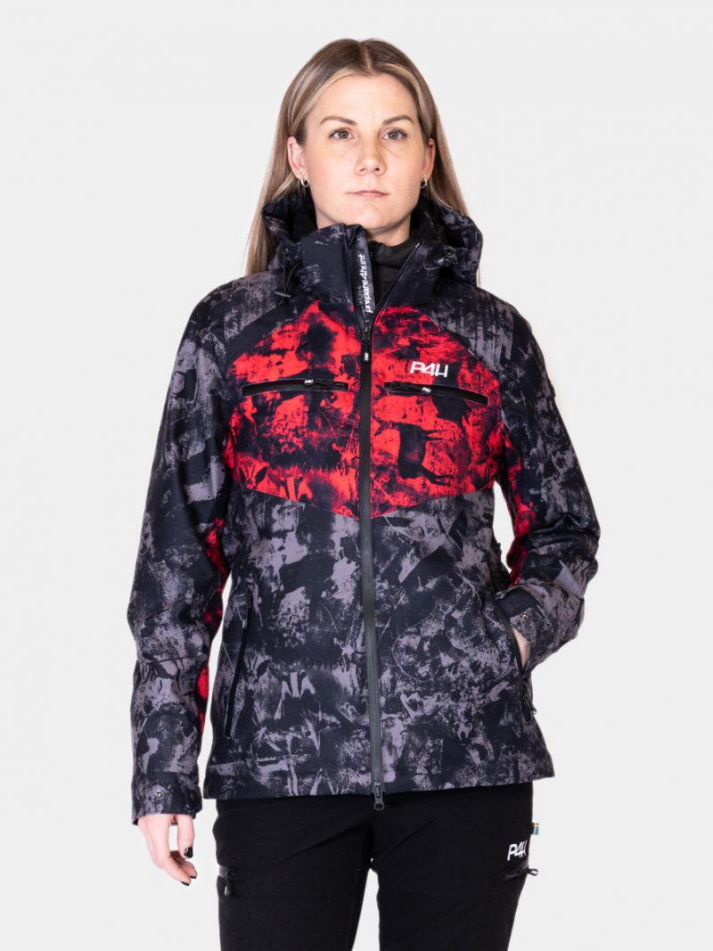 P4H Hunters Elite Jacket, Black/Pink Camo