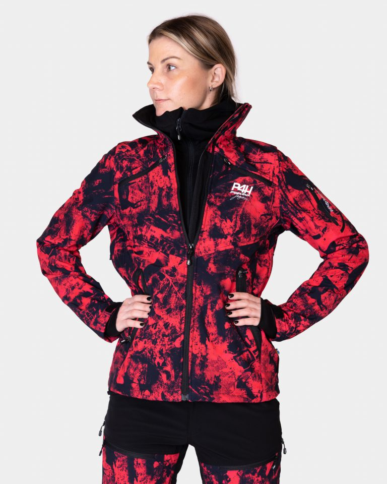 P4H Supreme Jacket Pink Camo, Dam