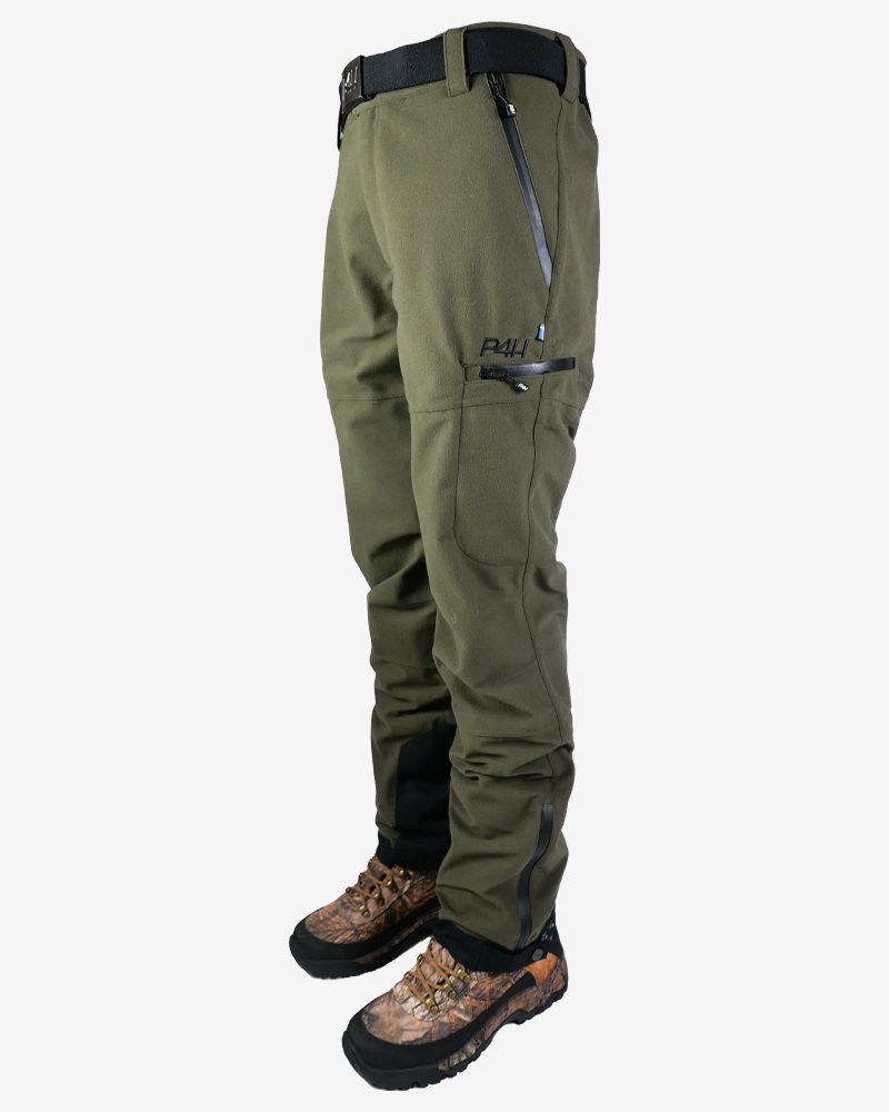P4h Hunters Elite Pant Green, Herr