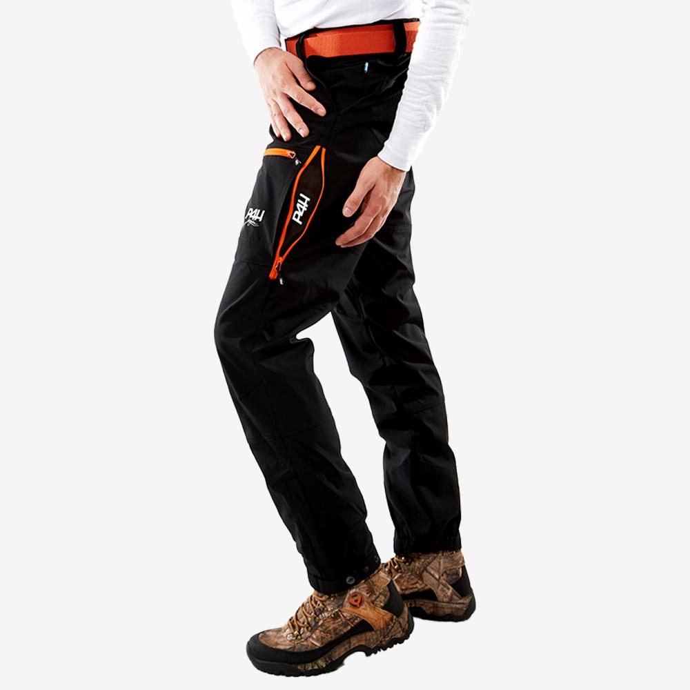 p4h power pants black/orange, Herr