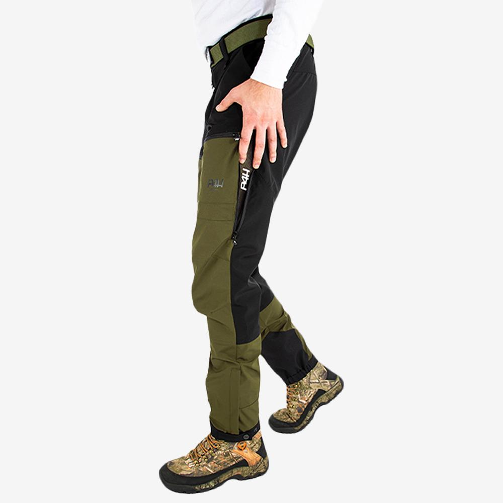 p4h power pants light green, herr