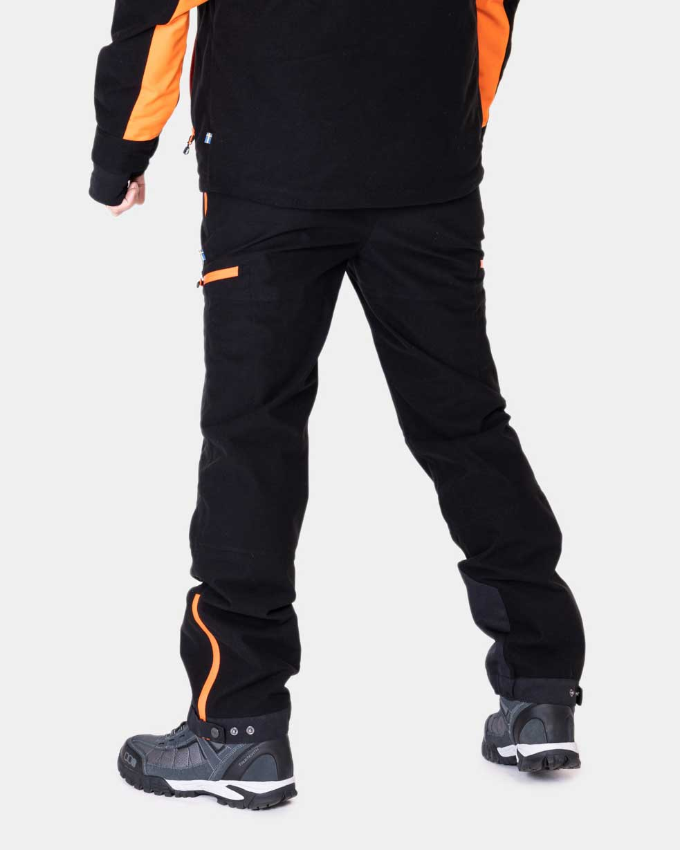 P4h Hunters Elite Pant Black, Herr