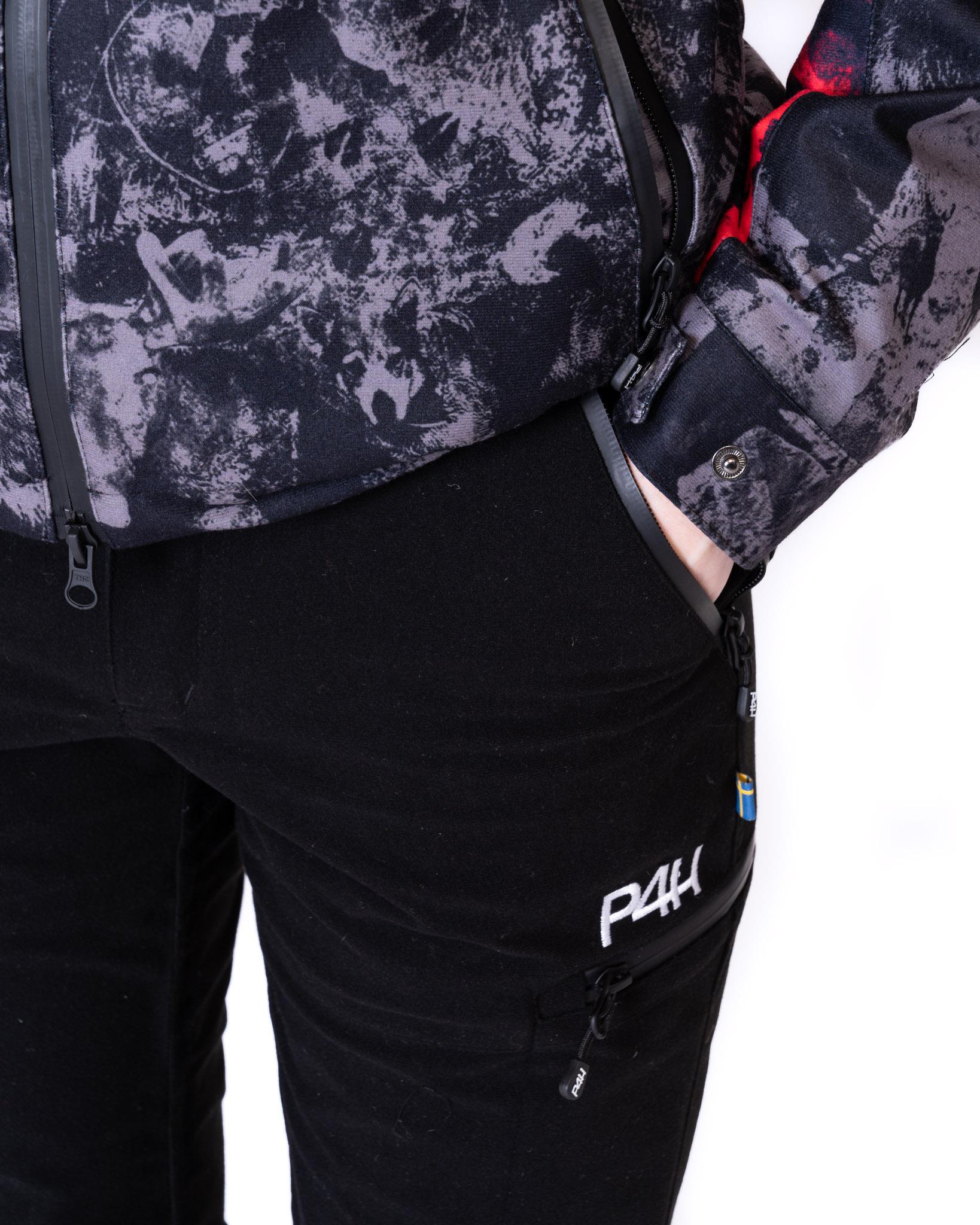 P4H Hunters Elite Pant Black, Dam