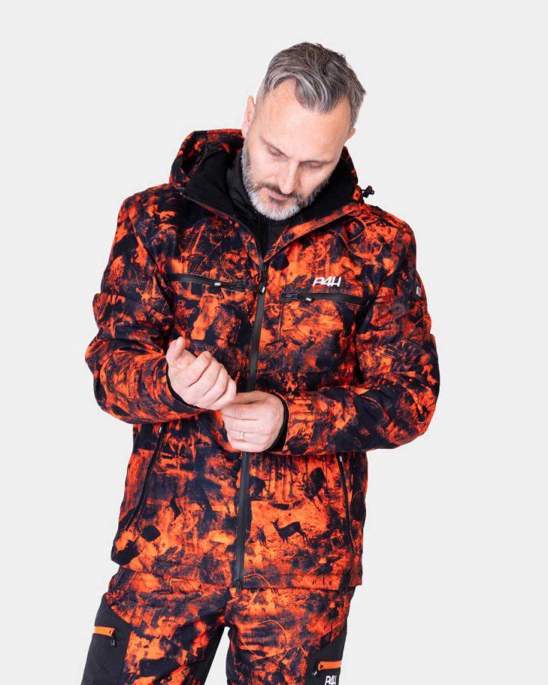 Jaktställ camouflage herr, Hunters Elite orange camo