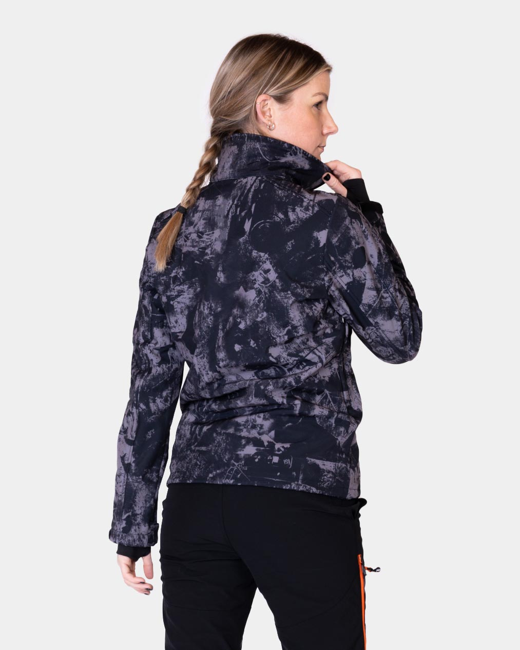 P4H Supreme Jacket, Black Camo, Dam