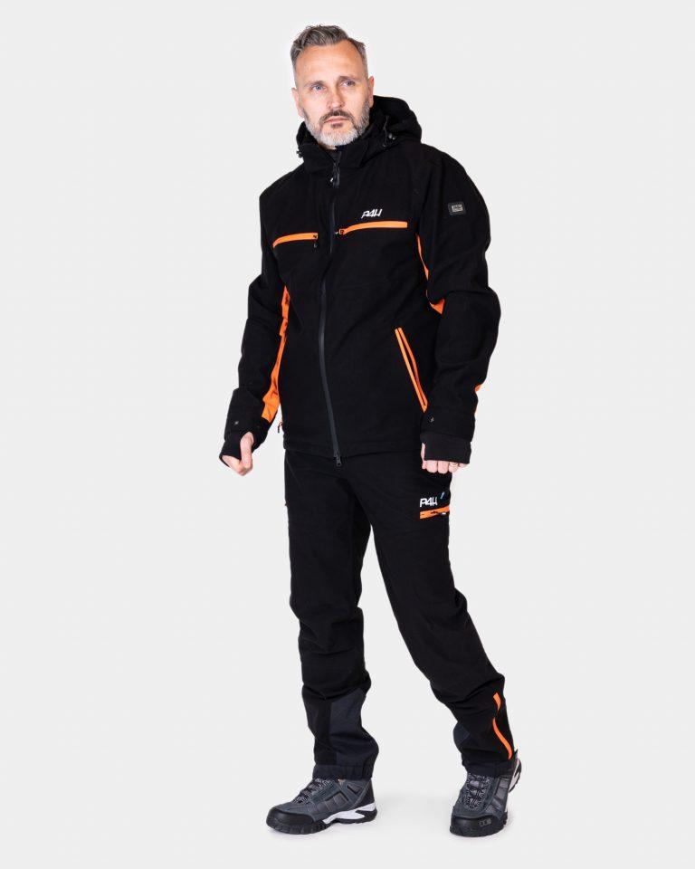 Friluftsset Elite Herr, Black Orange Comb