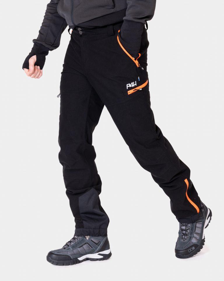 P4h Hunters Elite Pant Black, Herr