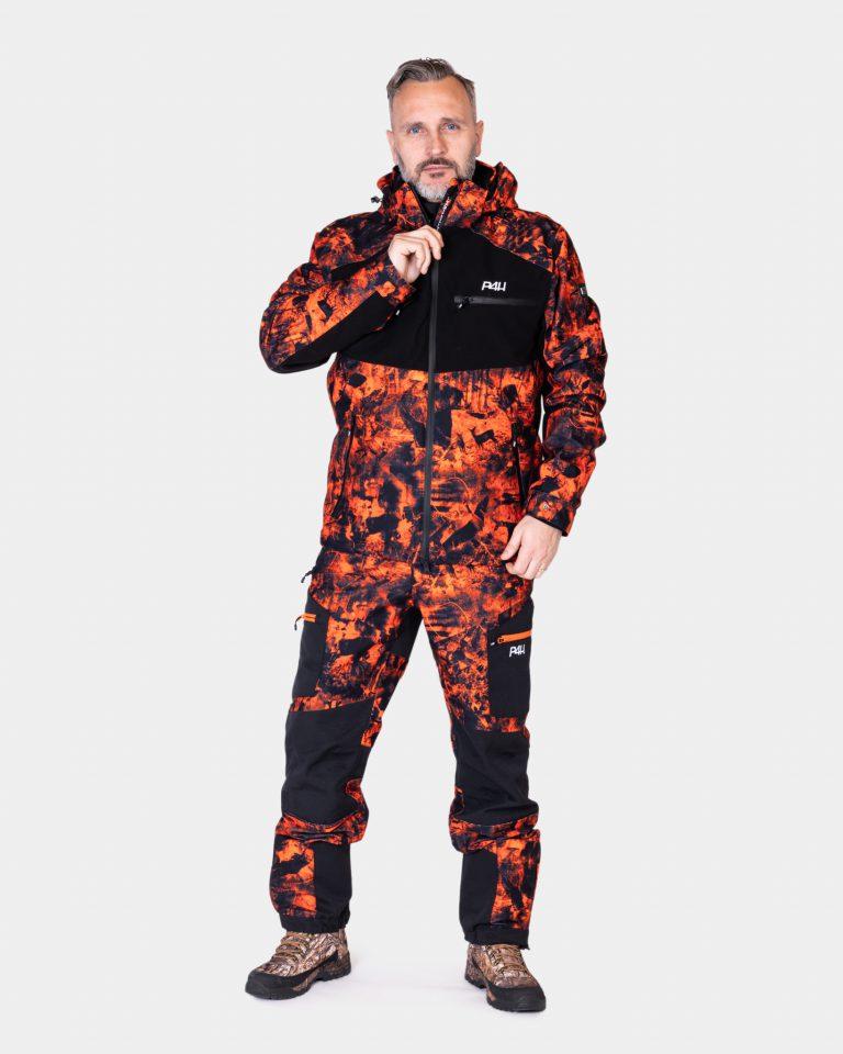 Jaktställ camouflage herr, Hunters Elite orange Comb
