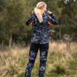 Jaktställ Camouflage Dam, Hunters Elite - Black Camo