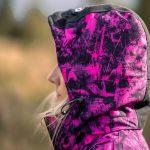 Jaktjacka Camouflage Dam, Hunters Elite - Black Camo