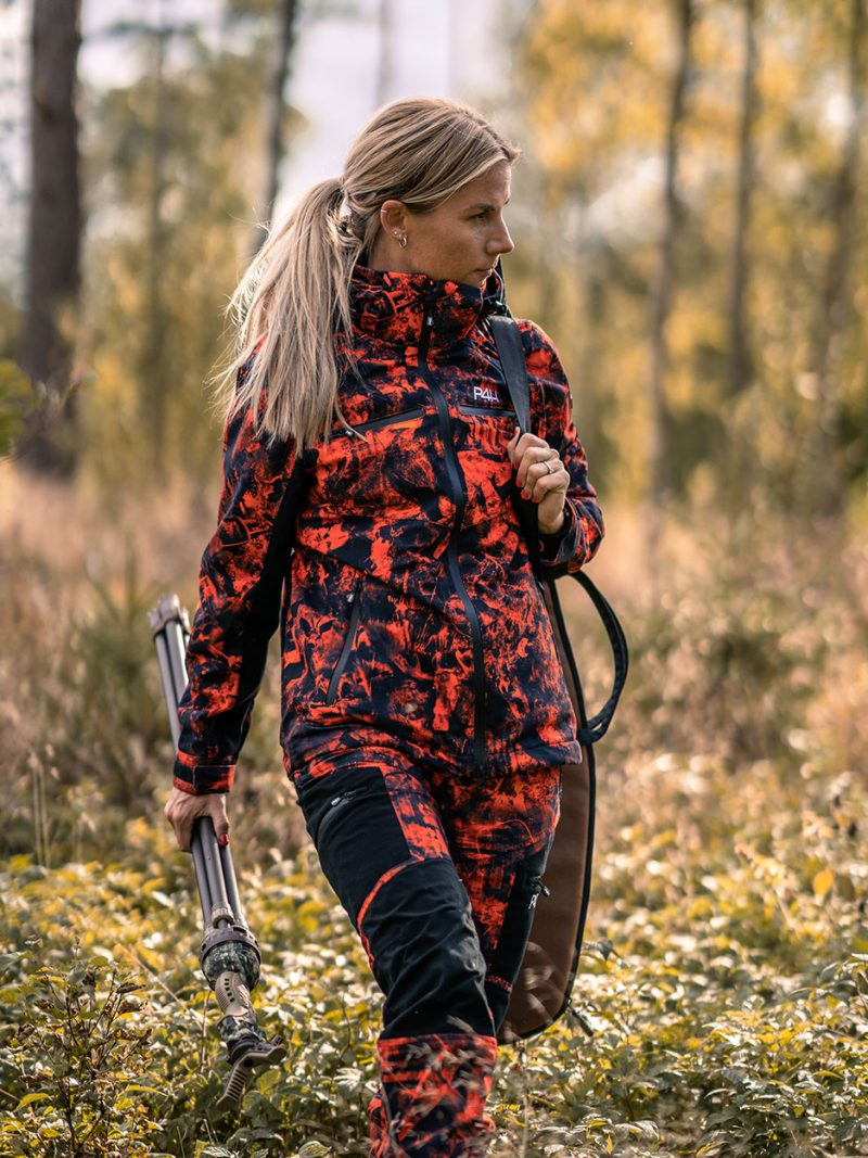 Jaktställ Camouflage Dam, Hunters Elite - Orange Camo