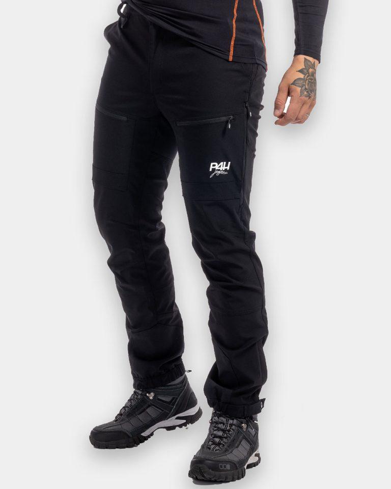 Friluftsbyxa Stretch Herr, Power Pants - Black